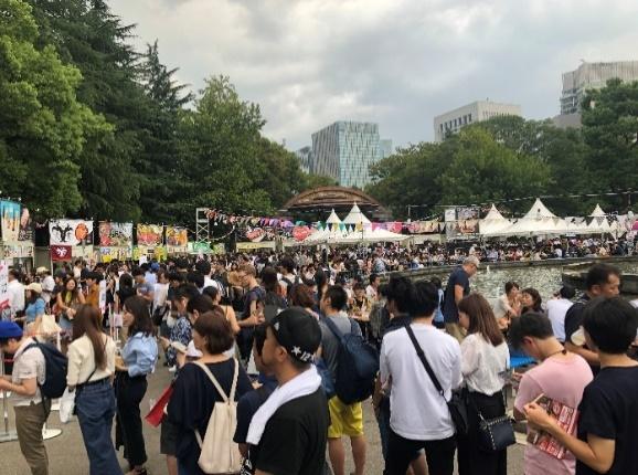 「ジャパンフードパーク2019」4つのフードフェスが日比谷公園に集結! JAPAN FOOD PARK 2019