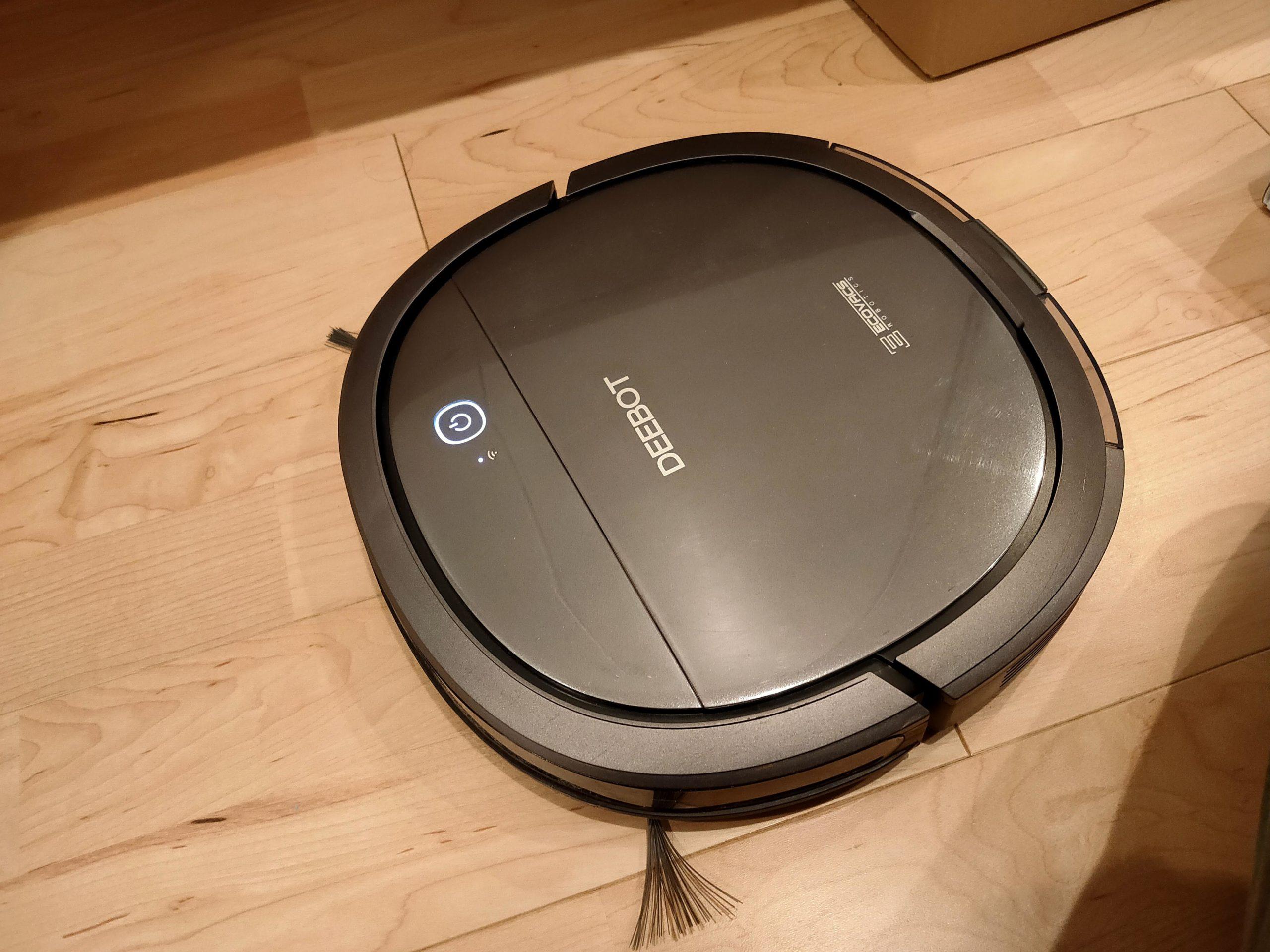 【ロボット掃除機】DEEBOT OZMO SLIM なら無印良品のユニットシェルフの隙間に潜り込める!