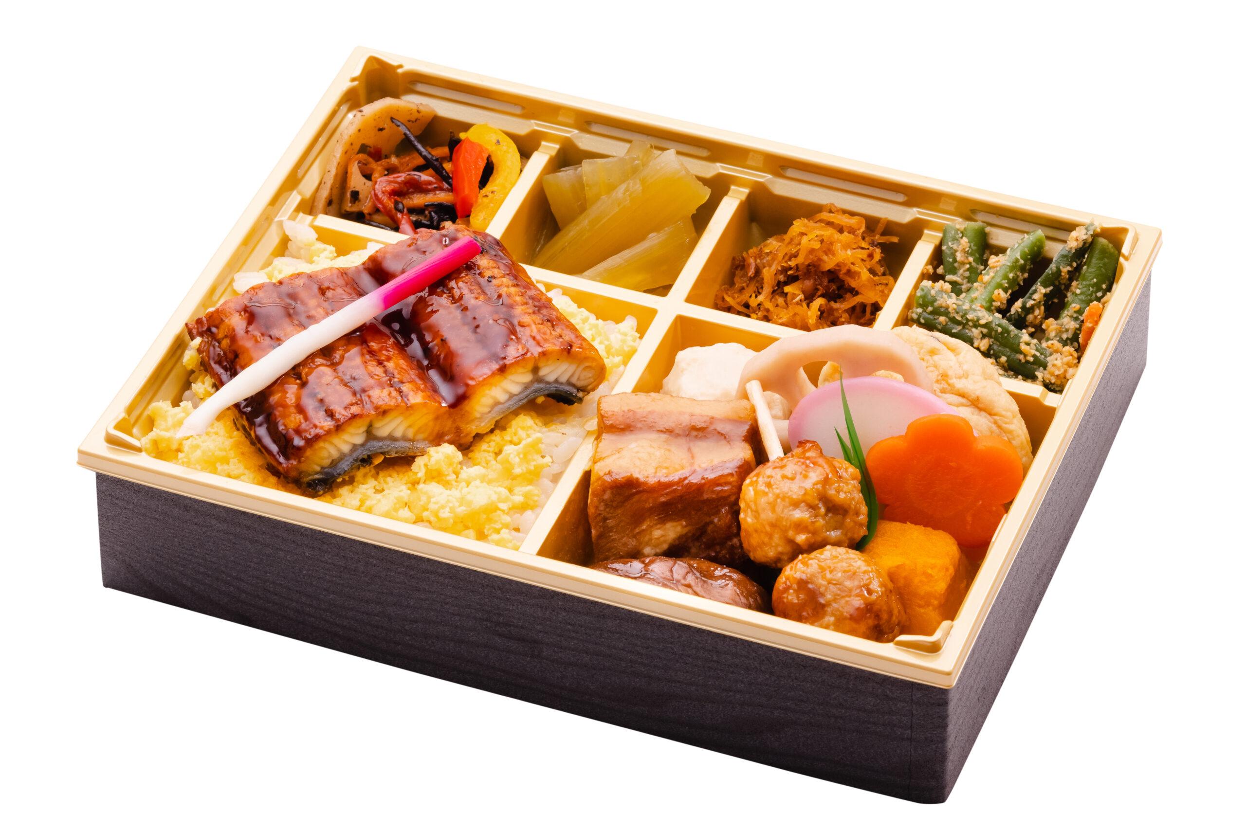 夏の味覚「鰻」を愉しむ「日本橋だし場 OBENTO エキュート品川店」のお弁当2種が6月1日新発売に 夏季限定新商品