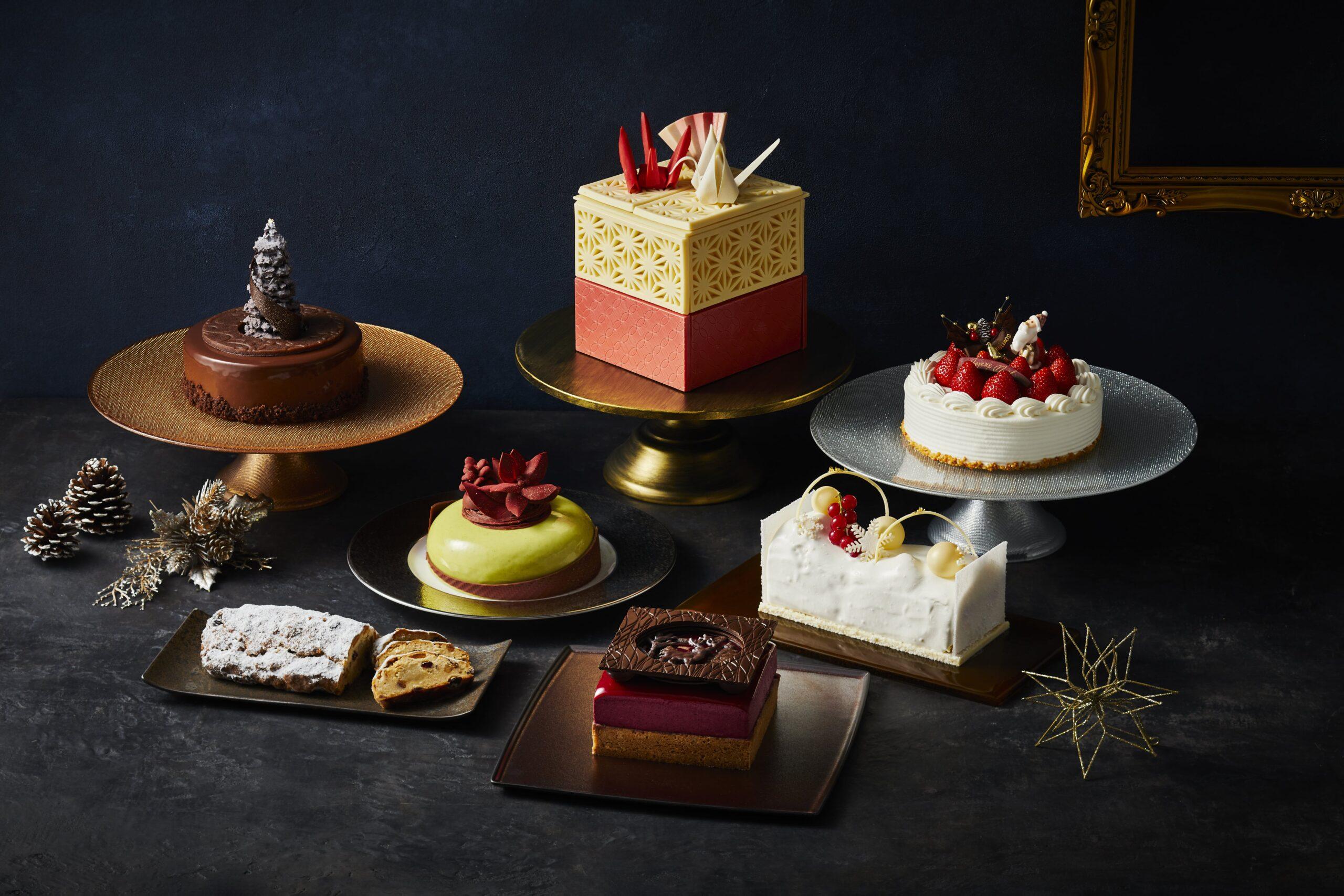 《ホテル雅叙園東京》 2021年の芸術的な美のクリスマスケーキ7種 テーマは「Art Temptation -アートの甘い誘惑-」